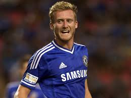 Andre Schurrle of Chelsea